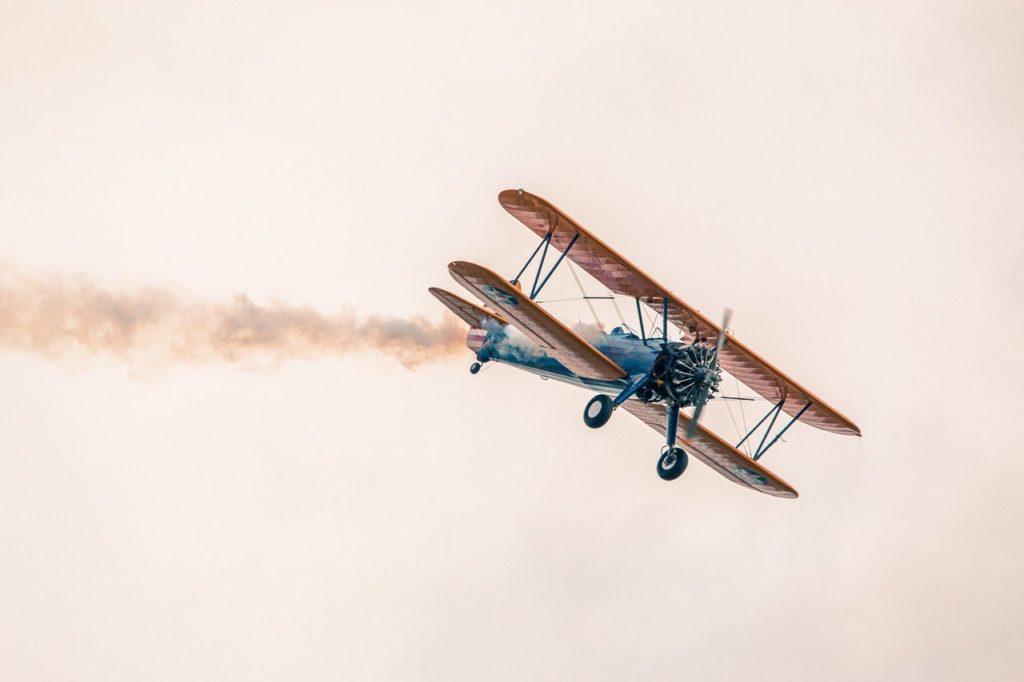 plane, flight, sky