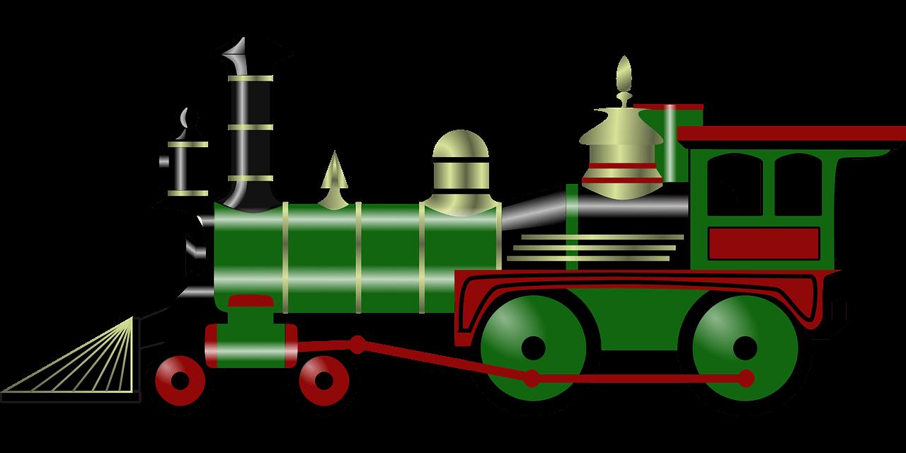 steam, engine, train