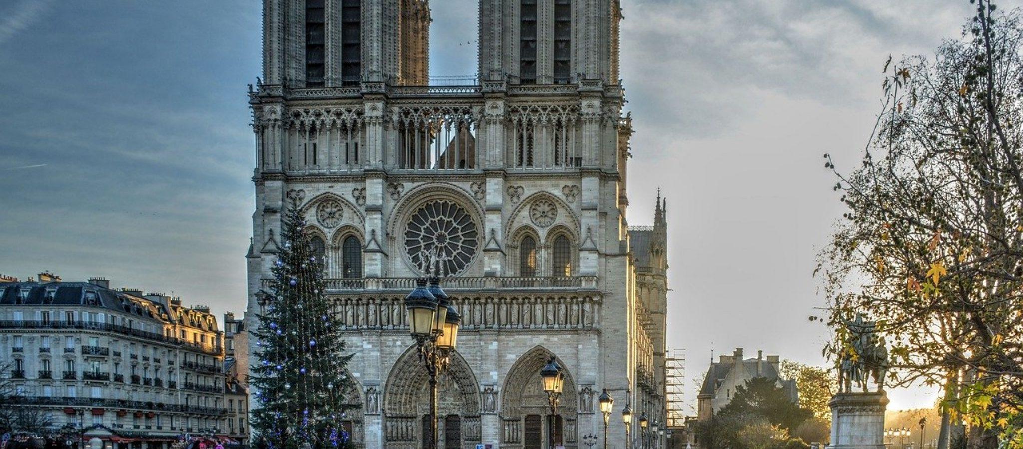 cathedral, notre dame, paris
